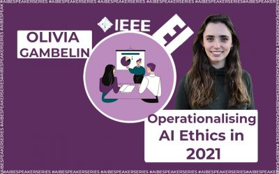 Operationalising AI Ethics in 2021